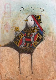 Bird Queen of D 3 Circles by *SethFitts on deviantART