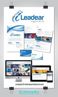 Branding completo para Leadear Ingeniería