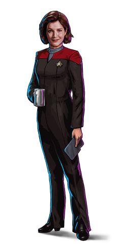 Janeway in Star Trek Timelines | Disruptor Beam