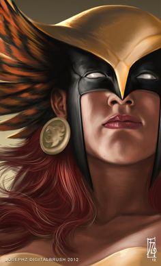 Hawkgirl by Joseph Zacate