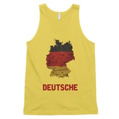 Featuring the German flag printed in the shape of the country on a high quality American Apparel tank top. 100% cotton. Free shipping! Proceeds go to feeding homeless kittens!