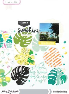Heather Doolittle for Pretty Little Studio Using the Summer Vibes collection