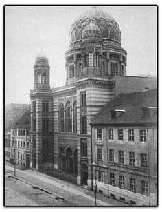 Die Synagoge in der Oranienburger Straße Berlin 1870