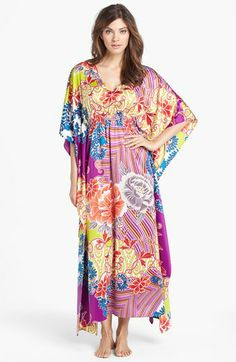 Natori 'Chinois' Caftan available at #Nordstrom