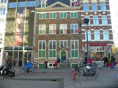 Rembrant's House~ Amsterdam, Netherlands~ Being in the same space of the Master is overwhelming. This is no ordinary home. One can stand in his studio and experience the light he saw. This is not a cheesy place to visit in Amsterdam, I was very inspired from my visit. That is me in the doorway....