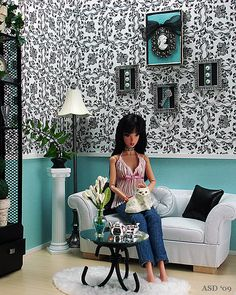 Idea for Barbie room