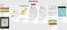 IPAD BINGO BOARDS to Flip and Gamify  PD http://www.techchef4u.com/ipad/multipurpose-monday-a-motley-of-ipad-bingo-cards/