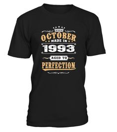 1993 October Aged to Perfection  #gift #idea #shirt #image #family #myson #mentee #father #mother #grandfather