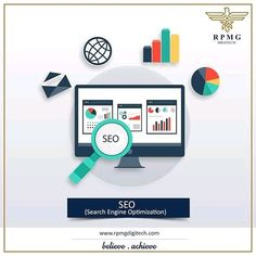 We'll aid you to play your part on the internet!  Get expert assistance to harness the power of SEO that'll help you achieve your specific goals.   #digitalmarketing #rpmgdigitech