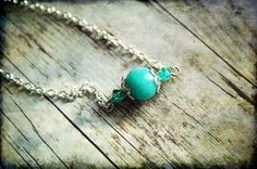 Polycystic ovary syndrome and getting pregnant answers.  http://pcos-and-pregnancy.com/ PCOS Teal Awareness Necklace 061