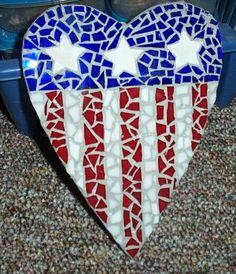 mosaic heart by stufffromthebunker, via Flickr