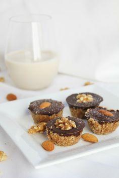 Peanutbutter Coconut Cups w/ Dark Chocolate