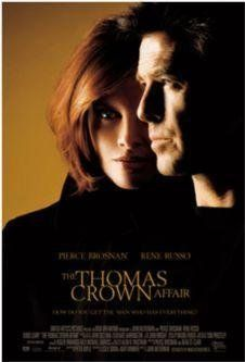 WHEN IT BEGAN.  M WAS FILMING IN MY BUILDING.  NOT P AT THIS POINT - THAT CAME LATER...  ???  The Thomas Crown Affair (1999)