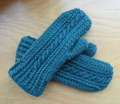 Yardage for heavy weight mitten is about 400-500 yards of dk or worsted weight yarn