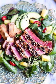 Sliced Beef Salad!