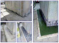 Rehabilitation of concrete foundations - Epoxy grout - Epoxycam Epoxy Grout, Grouting, Foundation Repair, Concrete Blocks, Integrity, Restoration, Data Integrity