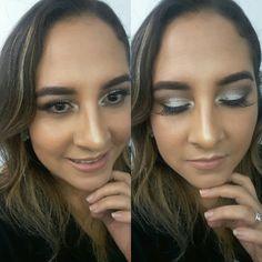 Strobing-Maquillaje de Ojos con Pigmentos.