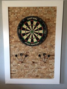 Cork Dartboard ($75)
