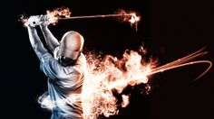 Back Swing on the Behance Network by Tony Bamber.
