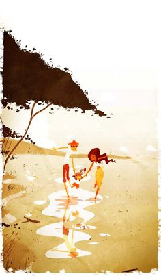 PASCAL CAMPION #baby #illustration #art