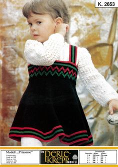 Last ned gratis Prinsesse Baby Knitting Patterns, Embroidery Patterns, Sewing Patterns, Vintage Knitting, Baby Girl Dresses, Dress Skirt, Turtle Neck, Children, Crochet