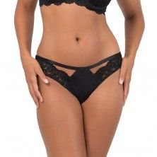 Signature Lace Back Cheeky Panty 2 Pack - Black Hue  In The Buff a141543ff8ff7