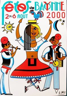 Arnaud Saez, Fetes de Bayonne, 2000