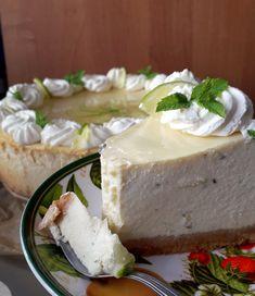 Takie tam moje pomysły: Sernik mojito Mojito, Feta, Rum, Cheesecake, Dairy, Desserts, Tailgate Desserts, Deserts, Cheesecakes