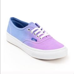 bd861f4272 Vans authentic ombré vans Never worn before! New without tags.  43 on Ⓜ️
