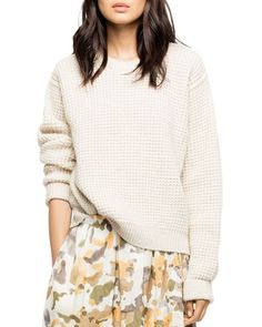38226191e6f Zadig   Voltaire Kary Waffle-Knit Sweater Women - Bloomingdale s