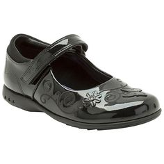 KIDS Clarks Breena Love Girls Shoes in  Black Patent Leather NOW HALF PRICE £17 at John Lewis