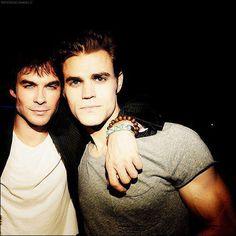 Stefan and Damon <3