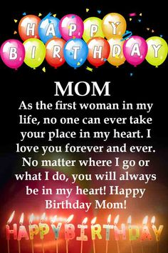 Latest & Famous Birthday Quotes For Mom Famous Birthday Quotes, Mother Birthday Quotes, Birthday Message For Mom, Birthday Wishes For Mother, Happy Birthday Wishes Cards, Happy Birthday Celebration, Birthday Presents For Mom, Birthday Gifts, Happy Birthday Mom Images