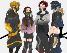 just sharing some memes and photos of demon slayer.All credit to where they belong and I already made copyright to share-alike in the tag. Anime Ai, Manga Anime, Anime Demon, Otaku Anime, Character Art, Character Design, Samurai Art, Dragon Slayer, Demon Hunter