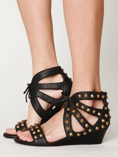 Jeffrey Campbell Paige Studded Sandal at Free People Clothing Boutique
