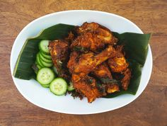 I love the aromatic flavors of this fried chicken. The chicken pieces are marinated with lots of fresh herbs and spices. Sounds like a lon...