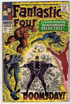 Fantastic Four #59 by Jack Kirby
