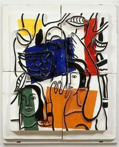 Les deux marins - (Fernand Leger)