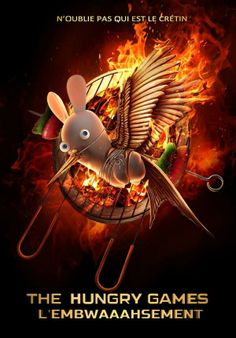 Rayman rabbits parody of hunger games Big Hero 6, Hunger Games, Rayman Raving Rabbids, Billy The Kids, Dead Man, Game Design, Games For Kids, Minions, Good Books