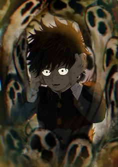 """Is this how they felt when they died? Me Anime, Manga Anime, Anime Art, Anime Guys, One Punch Man, Mob Psycho 100 Wallpaper, Mob Psycho 100 Anime, Mob Physco 100, Chibi"