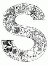alphabet animal s