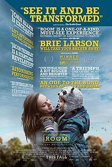 Room is a 2015 Canadian-Irish drama-thriller film directed by Lenny Abrahamson and written by Emma Donoghue, based on her novel of the same name. The film stars Brie Larson, Jacob Tremblay, Joan Allen, Sean Bridgers, and William H. Macy. Held captive for years in an enclosed space, a woman (Larson) and her 5-year-old son (Tremblay) finally gain their freedom, allowing the boy to experience the outside world for the first time.