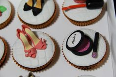 Birthday Cosmetic and Fashion Cupcakes 6