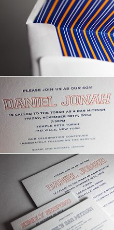 Love this one -Bar Mitzvah Invitations