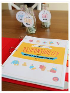 Website with lots of great parenting ideas - Kids' Responsibility & Money Management Kit