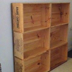 Wine Box Bookshelf Please Visit Thewonderfulwoodcompany TWWCUKgmail
