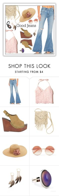 """Those were the days, my friend...."" by queenofsienna ❤ liked on Polyvore featuring GM Studio, Hollister Co., Jeffrey Campbell, H&M, SONOMA Goods for Life, Dolce&Gabbana, Serefina and Youngblood"