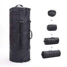 JSVER Travel Duffel Bag