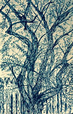 Ink drawing by C.T.Rasmuss 6/15/14.