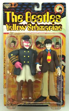 McFarlane The Beatles Yellow Submarine PAUL & CAPTAIN FRED Action Figures 1999 #McFarlaneToys  #weboys10